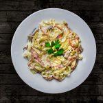 Een heerlijke macaronischotel met ham