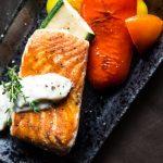 Een heerlijk visgerecht met schelvis uit de oven